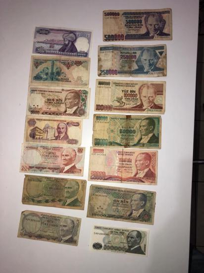 Para Koleksiyonu - 1970'ler - 2000'ler