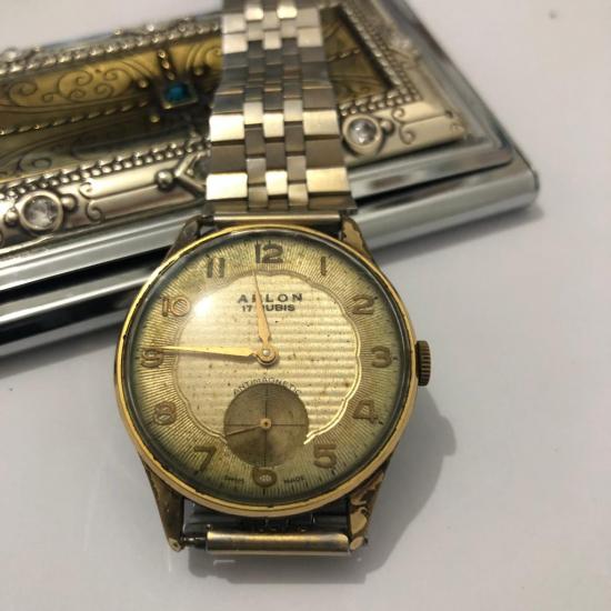 Kurmalı Arlon Kol saati - retro saat