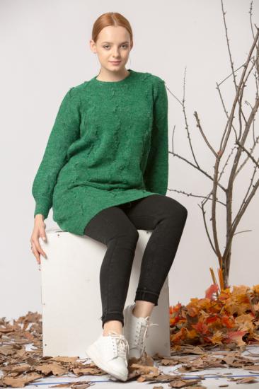 Triko Kazak - Yeşil