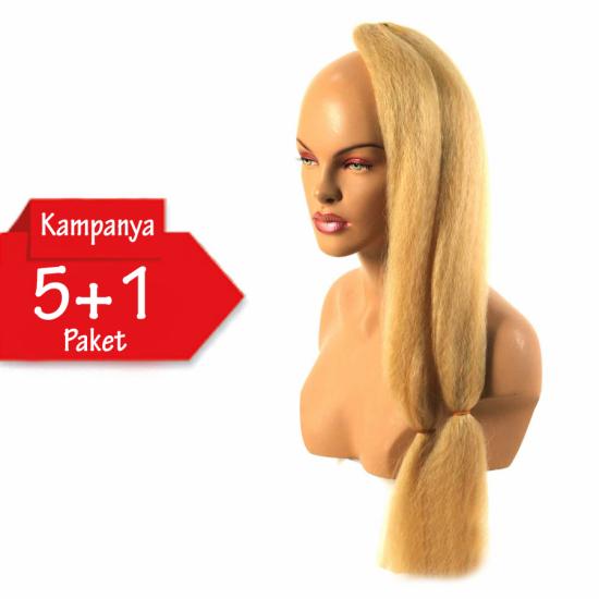 5 + 1 KAMPANYASI - ULTRA BRAİD - 24B - Zenci Örgüsü Saçı, Afrika Örgüsü Malzemesi,Rasta,Topuz Saçı