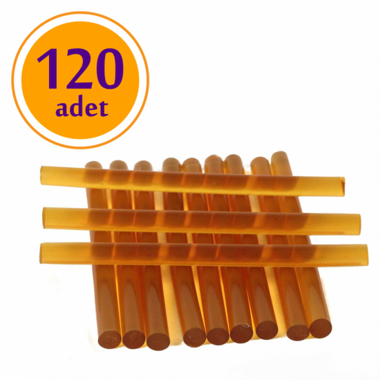 Keratin Çubuk / Kampanyalı Ürün / Şeffaf Sarı (120 Adet)