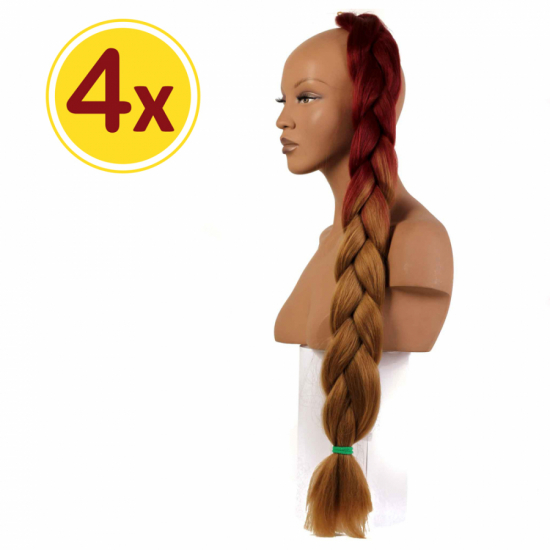 MISS HAIR BRAID - 2 / 33 - 4 Adet Kampanya - Zenci Örgüsü Saçı, Afrika Örgüsü Malzemesi