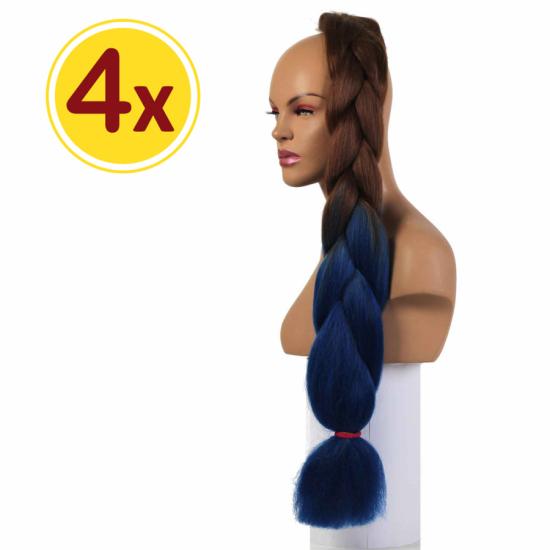 MISS HAIR BRAID - 2 / 38 - 4 Adet Kampanya - Zenci Örgüsü Saçı, Afrika Örgüsü Malzemesi
