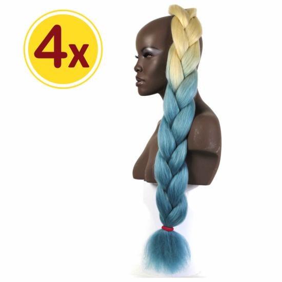 MISS HAIR BRAID - 2 / 41 - 4 Adet Kampanya - Zenci Örgüsü Saçı, Afrika Örgüsü Malzemesi