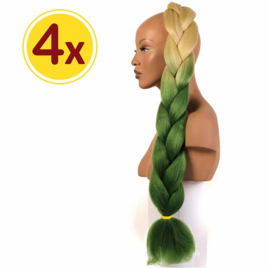 MISS HAIR BRAID - 2 / 42 - 4 Adet Kampanya - Zenci Örgüsü Saçı, Afrika Örgüsü Malzemesi