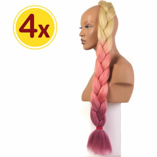 MISS HAIR BRAID - 3 / 37 - 4 Adet Kampanya - Zenci Örgüsü Saçı, Afrika Örgüsü Malzemesi